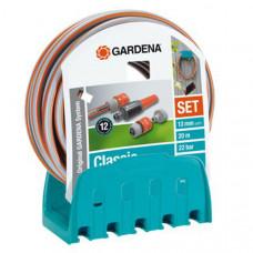 "GARDENA CLASSIC SLANG 1/2"", 20M + ARM + WANDHOUDER"