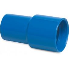 MEGA SOK PVC-U 38 MM LIJMMOF BLAUW TYPE VOOR ZWEMBADSLANG