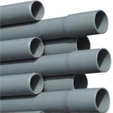 DRUKBUIS PVC-U 20 MM X 1,3 MM LIJMMOF X GLAD 10BAR GRIJS 5M